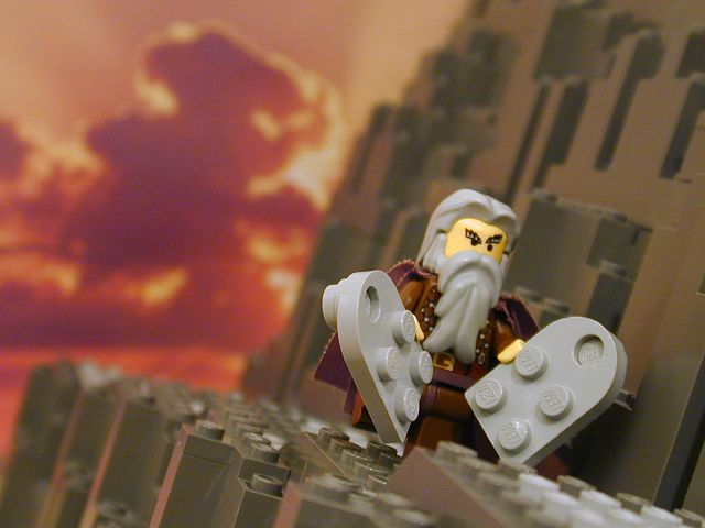 Lego Moses - Not available in stores