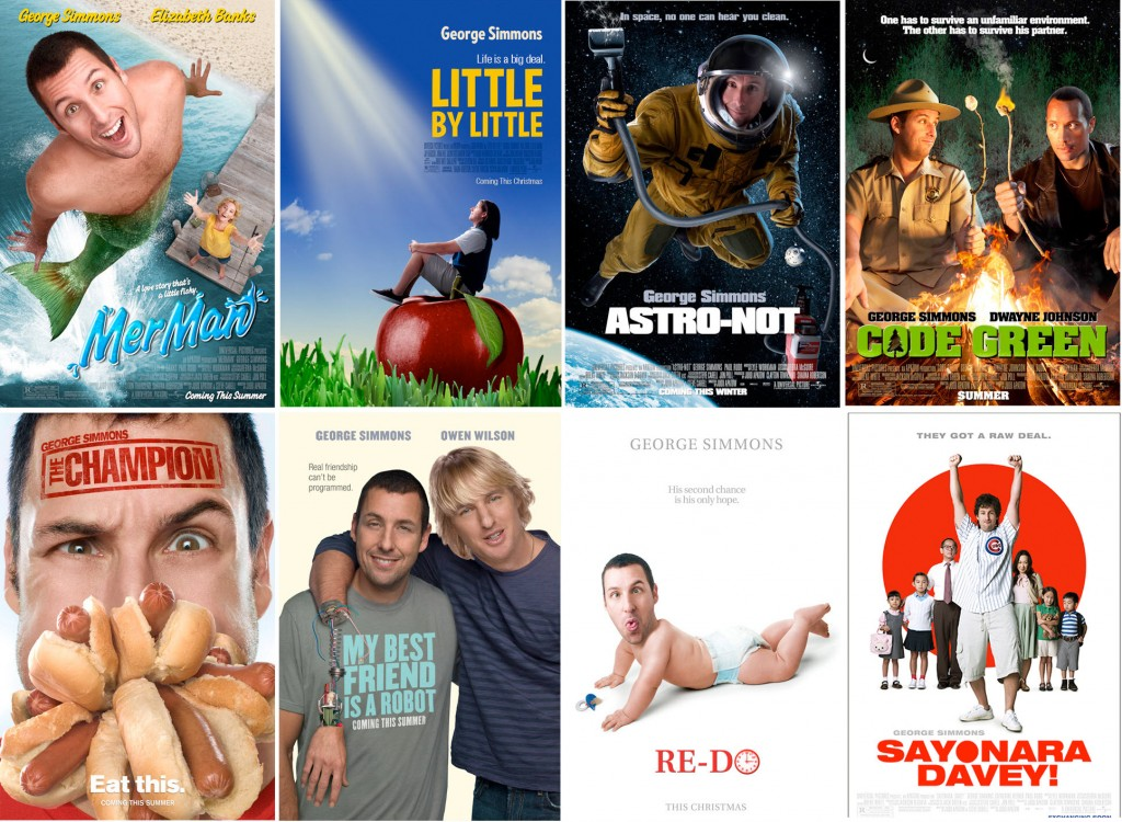 list of adam sandler movies
