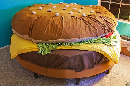 burger-bed